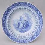 Bryon Gallery plate