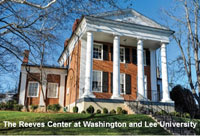 The Reeves Center at Washington and Lee University