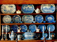 Museums and Places of Interest with Displays and Collections of Transfer Prited Pottery