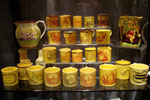 Canary-glazed mug collection
