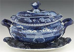Goldberg Brown tureen