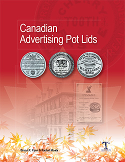 Canadian Advertising Pot Lid