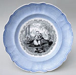 Byron Gallery plate