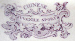Chinese Juvenile Sports series Mark