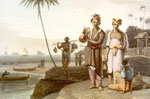 """Malay Beach Scene, Malays of Java"""