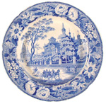 Pashkov House, Moscow Plate