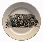 Lady Godiva and Peeping Tom of Coventry Plate