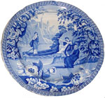 """Lady of the Lake"" Plate"