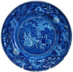 """ Don Quixote and the Shepherdesses"" Plate"