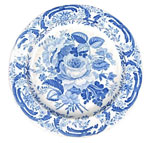 Blown Rose Plate