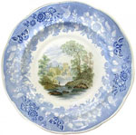 """Butterfly Border"" Plate"