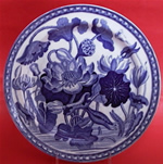 """Water Lily"" Plate"