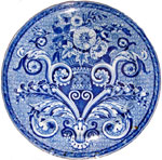 Mosaic Tracery Plate