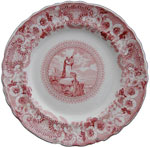 """Moses On Mount Sinai""  Plate"