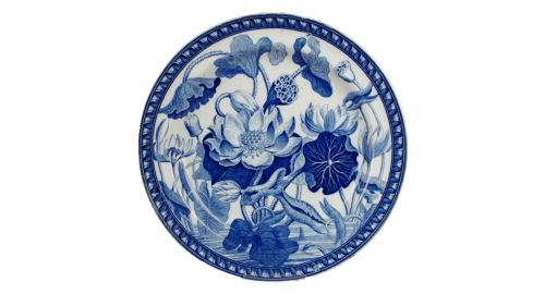 Water Lily pattern c. 1820, Wedgwood