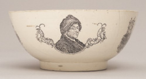 Did Benjamin Franklin invent transferware?