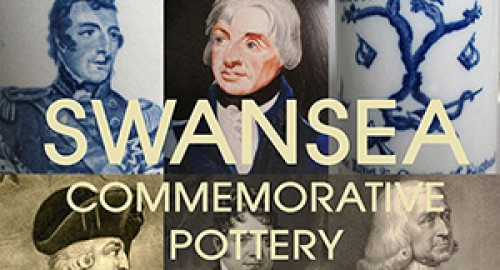 Swansea Commemorative Pottery