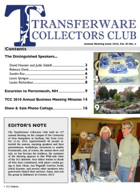 cover 2010 Annual Meeting Issue, Vol. XI No. 4