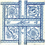 Four-part Connected Motifs Tile