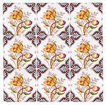 Tulips and Ferns Tile